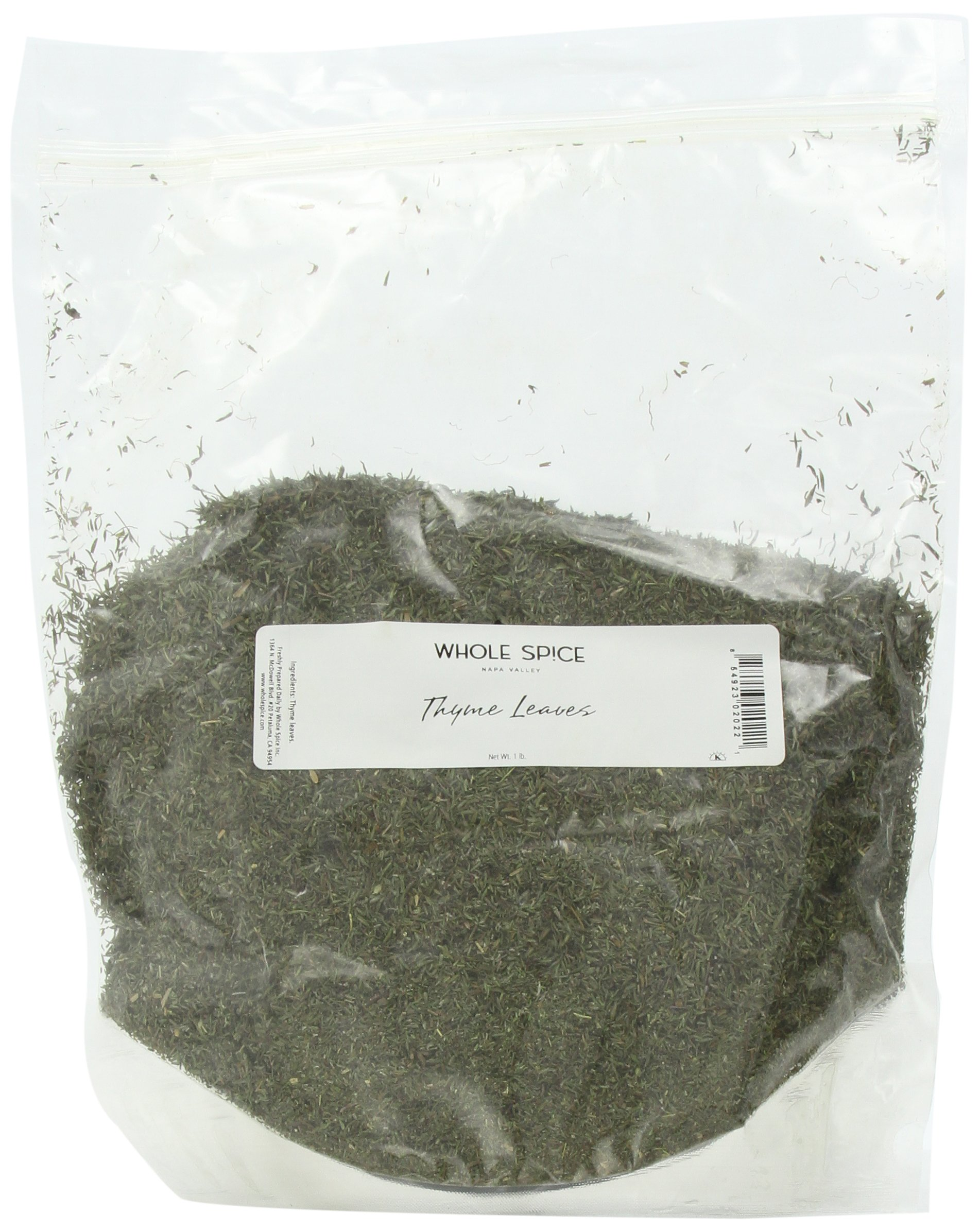 Whole Spice Thyme Leaves Whole, 1 Pound