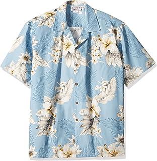 aba2a0d0 Nob Hill Hawaiian Shirt Relaxed Fit Casual Short Sleeve Big Mens ...