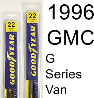 "product image for GMC G Series Van (1996) Wiper Blade Kit - Set Includes 22"" (Driver Side), 22"" (Passenger Side) (2 Blades Total)"
