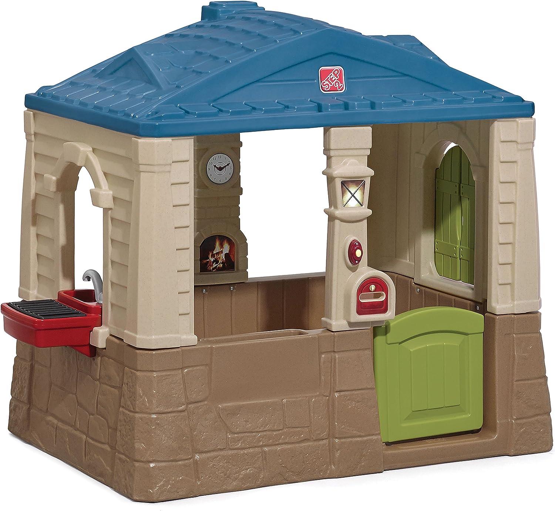 Step 2 Happy Home Cottage & Grill - Casas de Juguete (Casa de Juegos de Suelo, Niño/niña, 1,5 año(s),, plástico, 1 Puerta(s)): Amazon.es: Juguetes y juegos