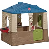 Step2 Happy Home Cottage & Grill Kids Playhouse, Blue