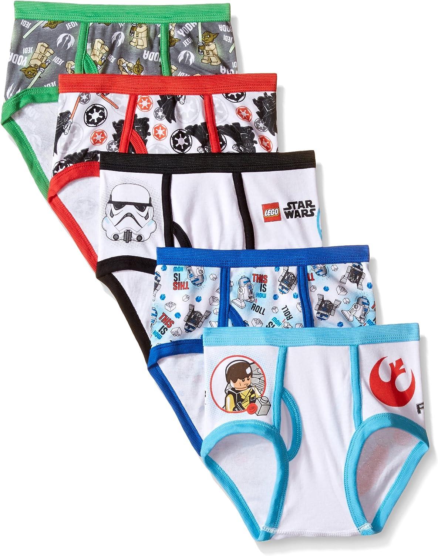 Star Wars Little Boys' Lego 5-Pack Underwear Brief