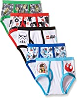 Star Wars Little Boys' Lego 5-Pack Underwear Brief