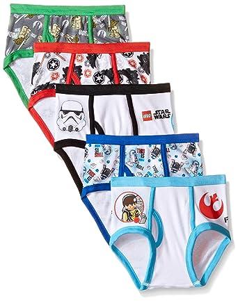 Amazon.com: Star Wars Little Boys' Lego 5-Pack Underwear Brief ...