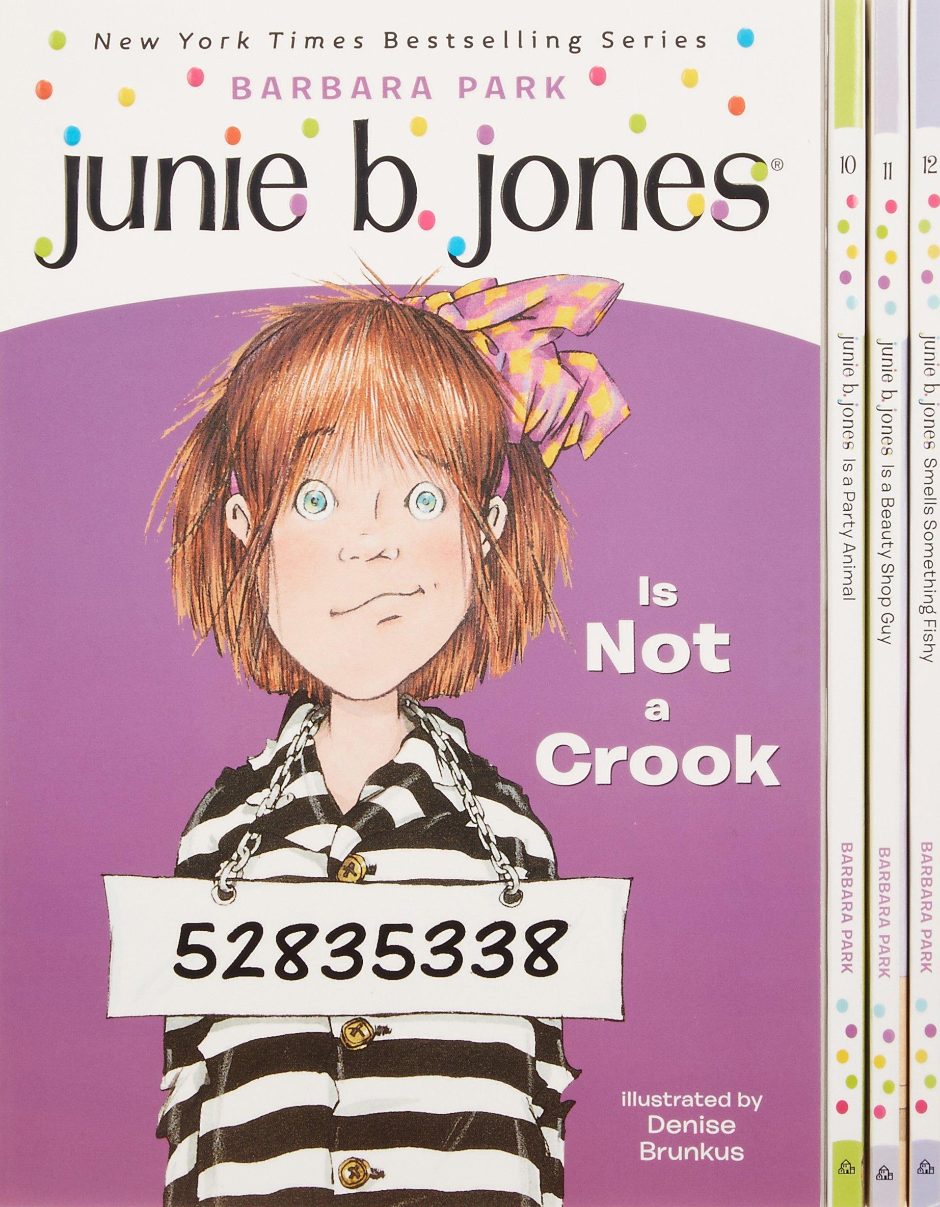 junie b jones u0027s third boxed set ever books 9 12 barbara park