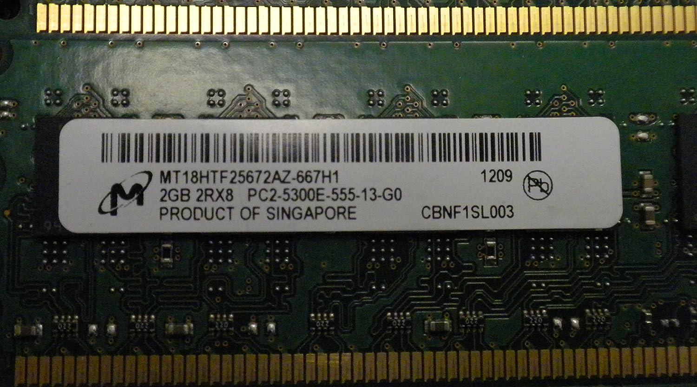 8GB 4X2GB RAM PC2-5300E 2RX8 DDR2 ECC Unbuffered for Dell Precision T3400 380