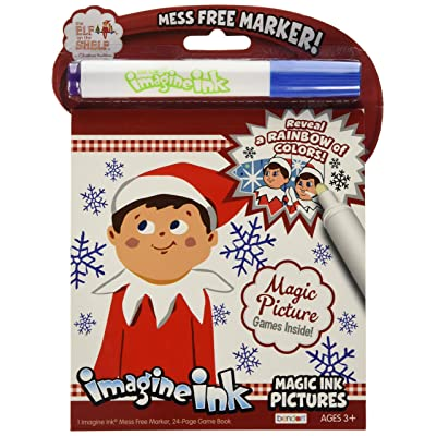 Bendon Elf of The Shelf Magic Ink Coloring Book: Toys & Games