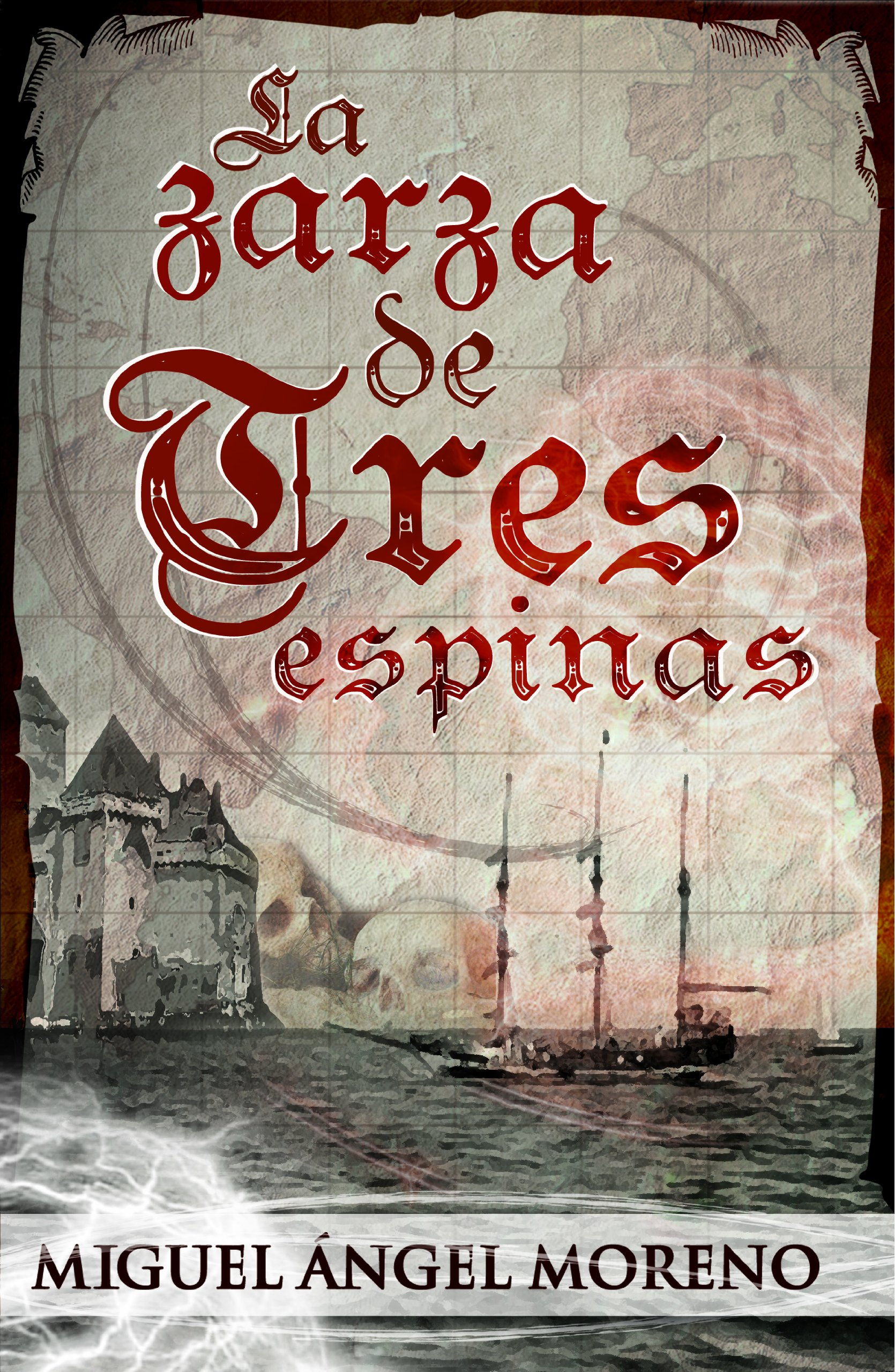 La zarza de tres espinas: Amazon.es: Moreno, Miguel Ángel: Libros