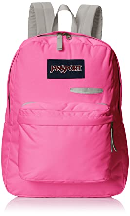 JanSport Digibreak Backpack - Fluorescent Pink   16.7 quot H x 13 quot ... 6bd8e8503f4eb