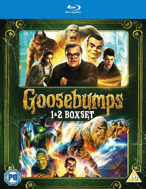 Goosebumps 2015 / Goosebumps 2: Haunted Halloween - Set Reino Unido Blu-ray: Amazon.es: Cine y Series TV