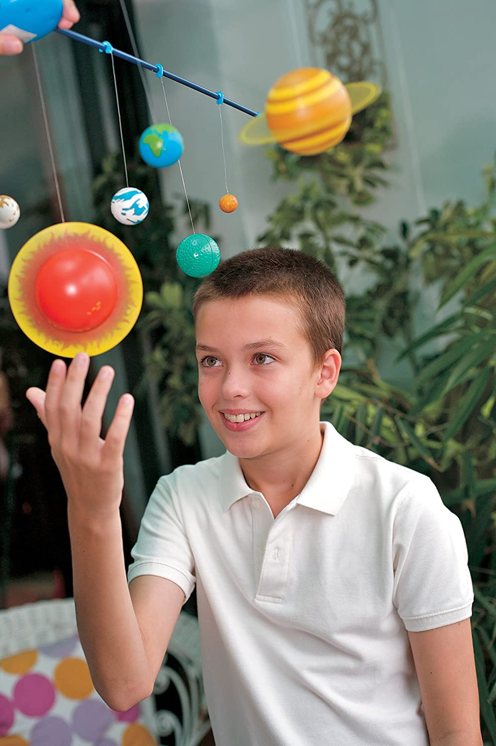 Hanging Solar System for Kids
