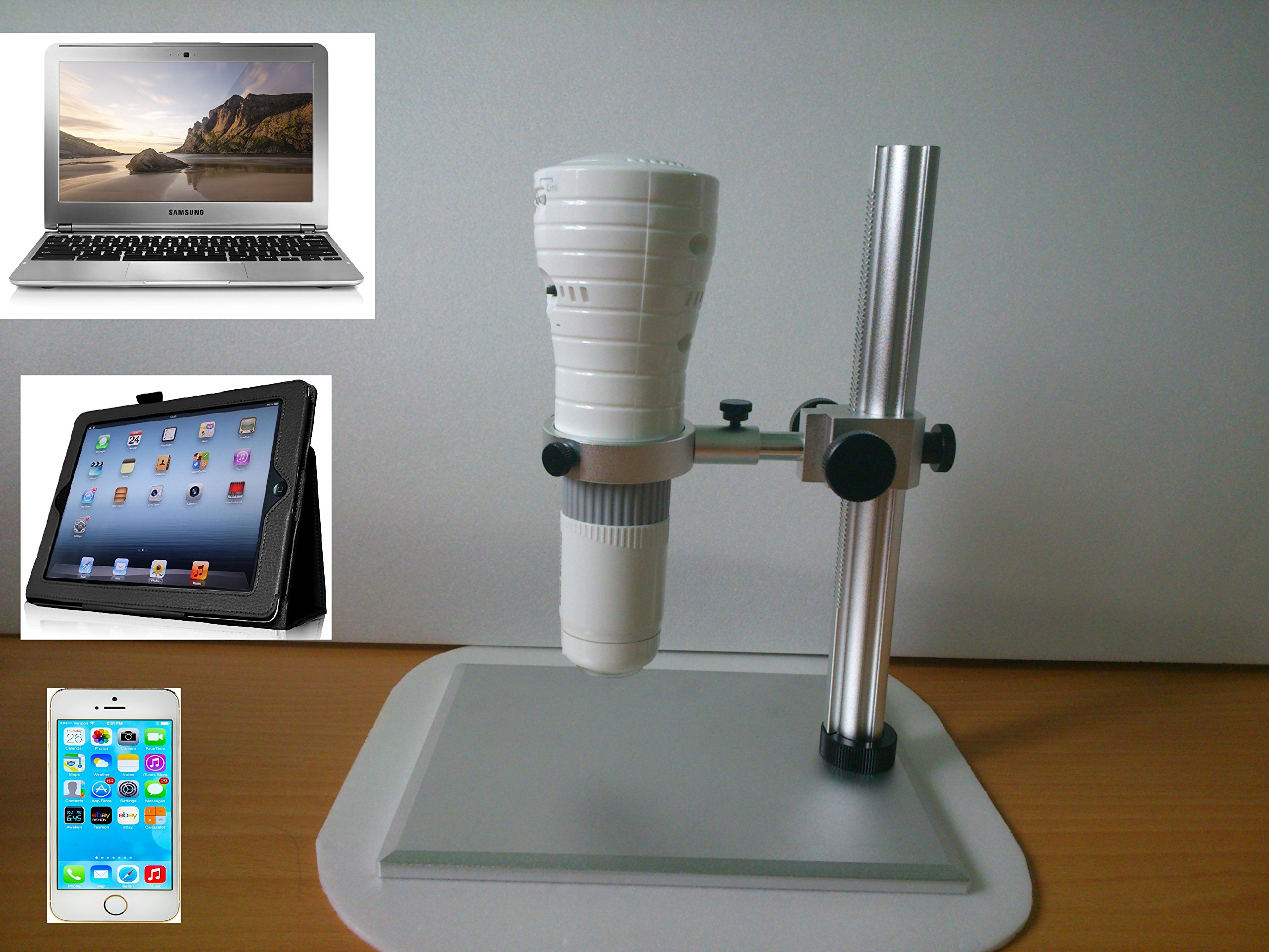 Vividia Wireless WiFi/USB Handheld Digital Microscope for iPhone/iPad/PC by Vividia