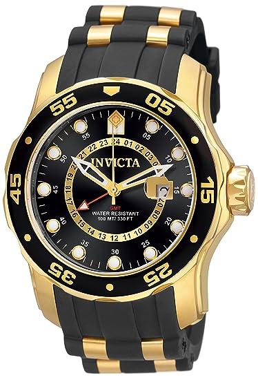 Invicta 6991 Pro Diver - Scuba Reloj para Hombre acero inoxidable Cuarzo Esfera negro: Amazon.es: Relojes