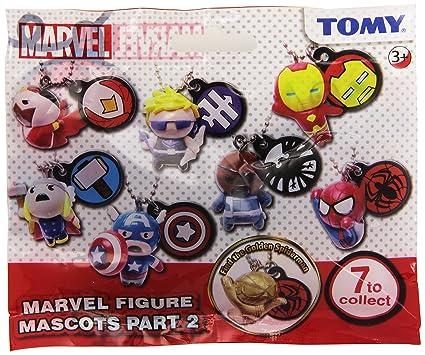 Amazon.com: Marvel Figura Mascots parte 2 Llavero, 7 A ...