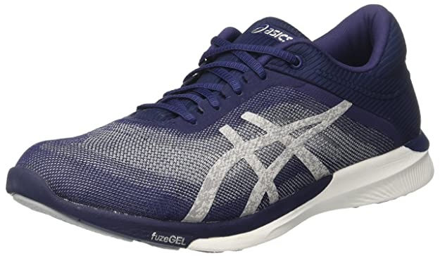 Asics FuzeX Rush Adapt amazon-shoes neri Da corsa reBA9q