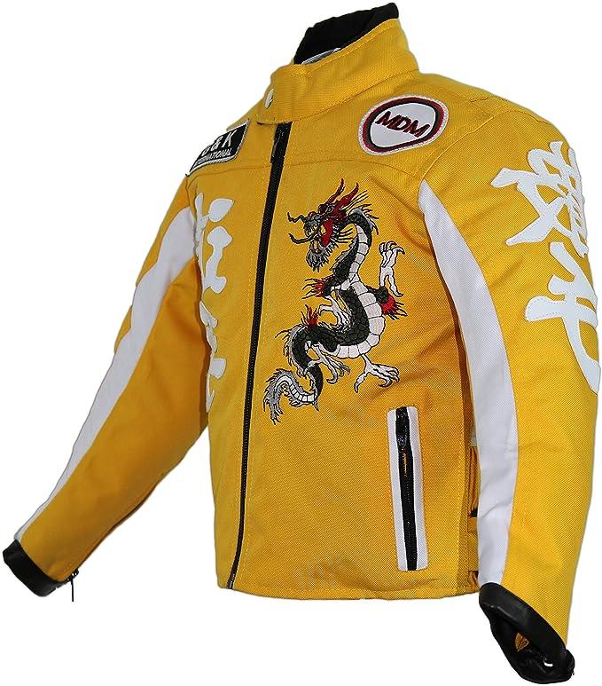 Mdm Kinder Bikerjacke In Gelb Bekleidung