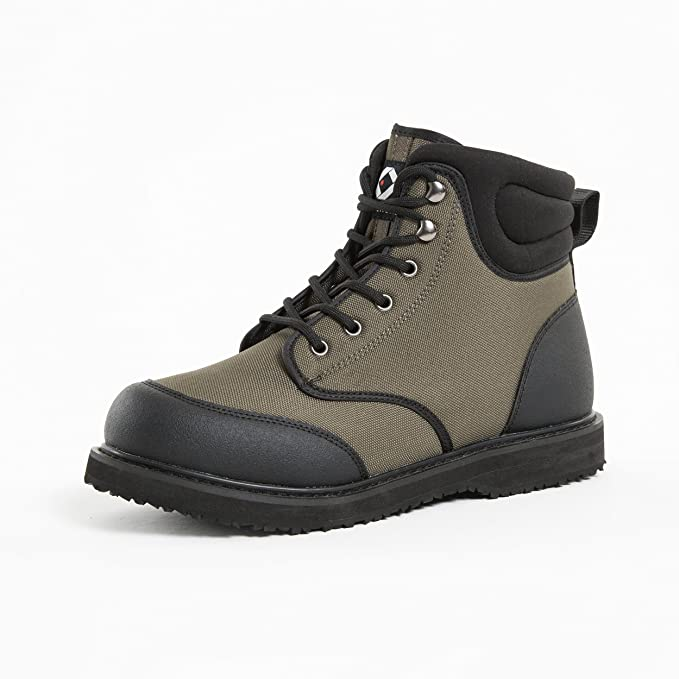 duck and fish men's sticky rubber sole wading shoes