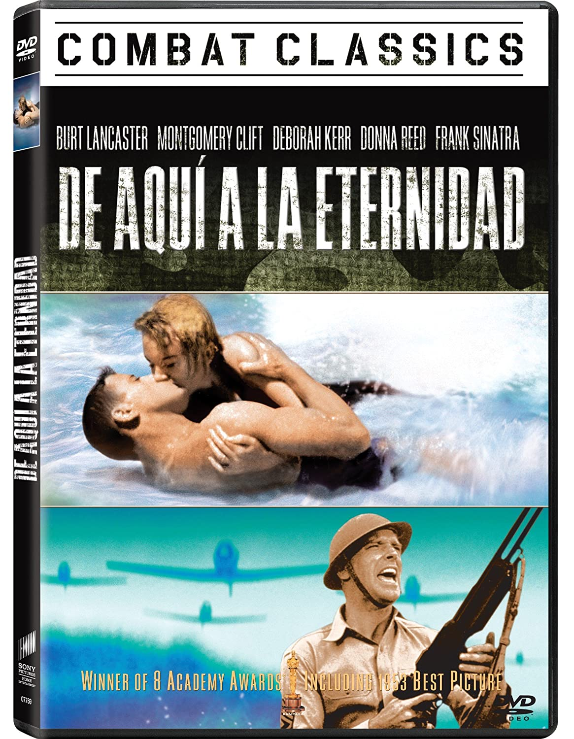 Combat Classics De Aqui A La Eternidad Import Movie European Format Zone 2 2011 B Lancaster D Movies Tv