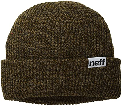 927d1b5c429 Neff Mens Fold Heather Solid Winter Hat - Brown -  Amazon.co.uk  Clothing