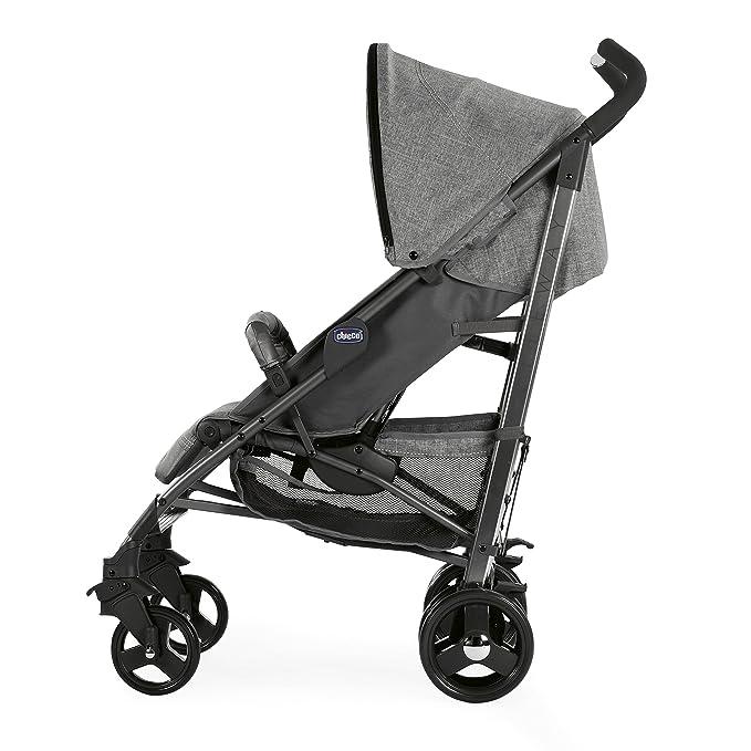 Chicco Liteway 3 S.ED. Legend - Silla de paseo ligera y compacta, 7,5 kg, color gris