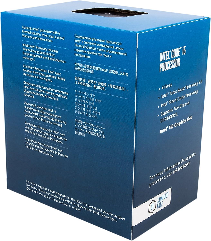 Intel Core I5-7400 - Procesador con tecnología Kaby Lake (Socket ...