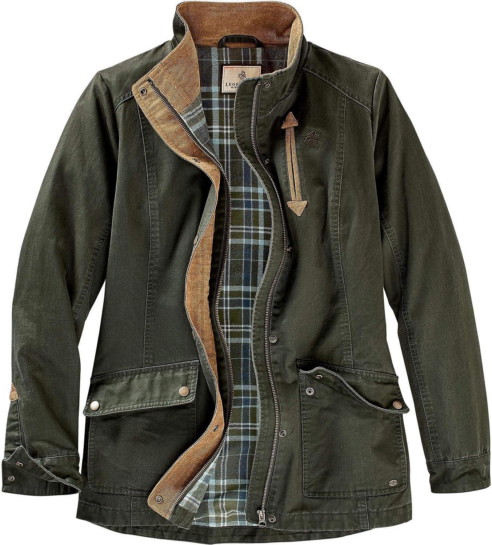 Legendary Whitetails WOMENS Saddle Country Shirt Jacket: Clothing