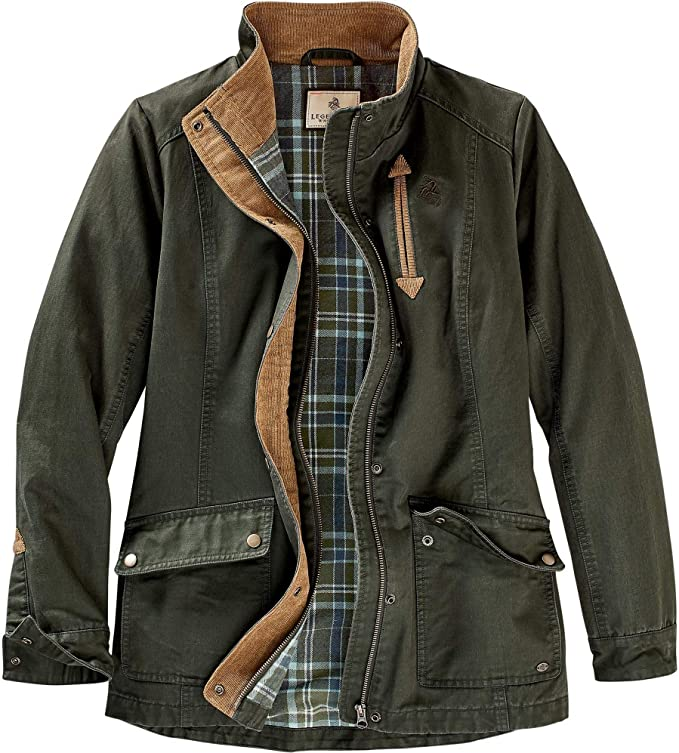 best hunting jackets: Legendary Whitetails Women's Saddle Country Shirt Jacket
