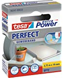 tesa 德莎 德国进口 自粘型棉布胶带 尽显完美品质 尺寸为2.75m*19mm 灰色