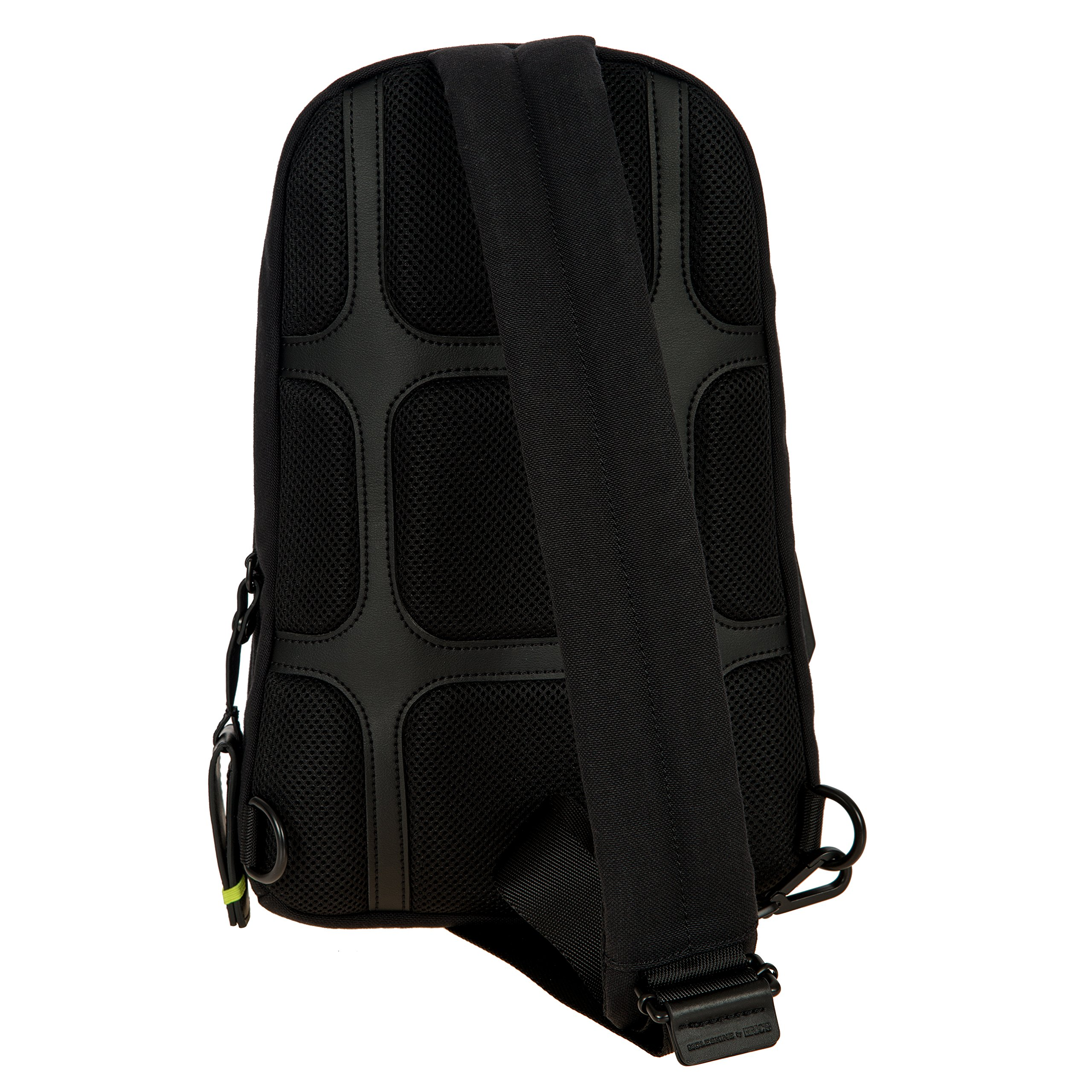 Bric's Men's Moleskine Bag Sling Backpack, Black, One Size by Bric's (Image #4)