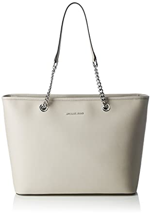 cb628a1a636e Image Unavailable. Image not available for. Color  MICHAEL Michael Kors  Women s Jet Set Chain Travel Tote Bag ...