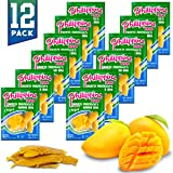 Philippine Brand Dried Mangoes Fruit Snacks {12 PACK} All Naturally Gluten Free, Vegan, Hand-Selected Delicious Fresh…