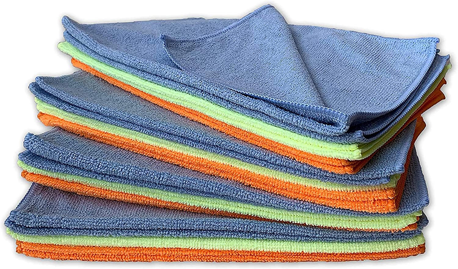 Armor All Microfiber Car Cleaning Towels, Cleaner for Bugs, Dirt & Dust, For Cars & Truck & Motorcycle, Pack of 24, 17622