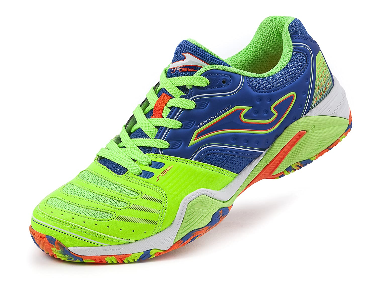 ZAPATILLAS DE PADEL JOMA SET 604 ROYAL FLUOR T-46: Amazon.es ...