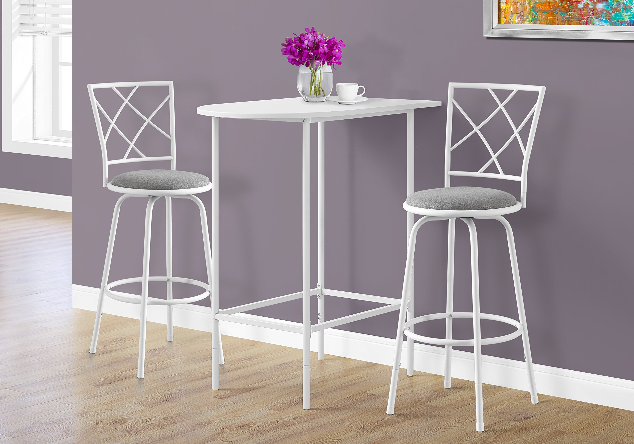 Monarch I 2376 Table/Home Bar, White