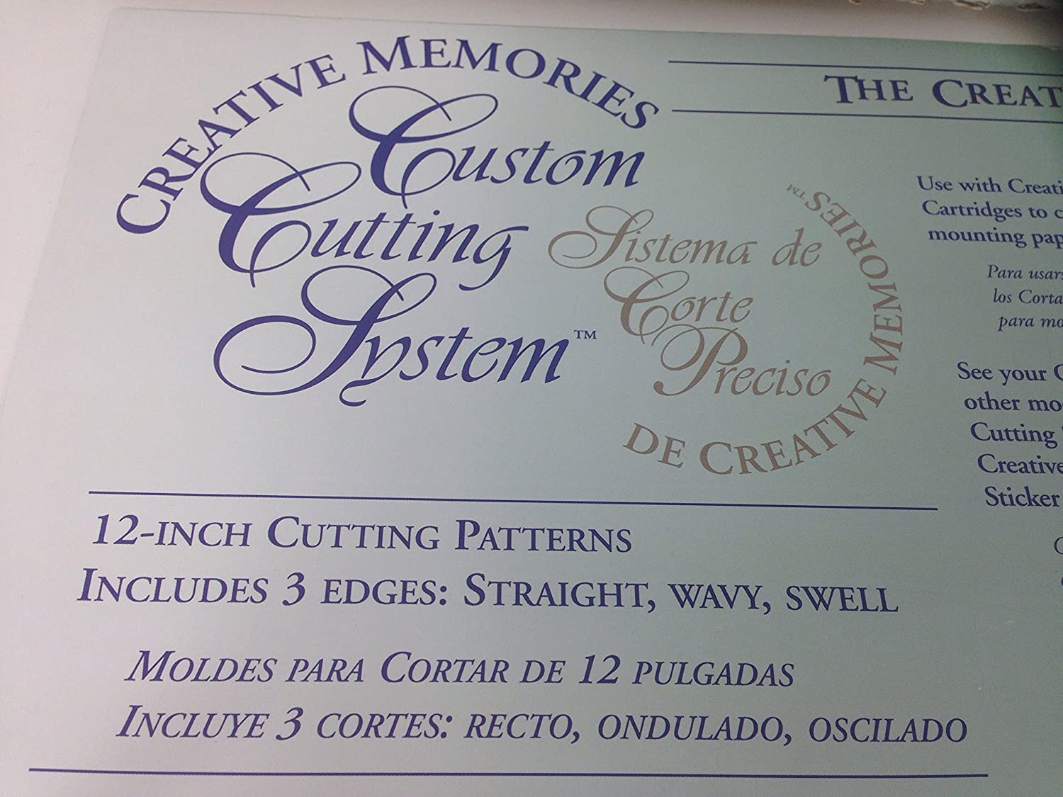 Amazon.com : Creative Memories Custum Cutting System 12