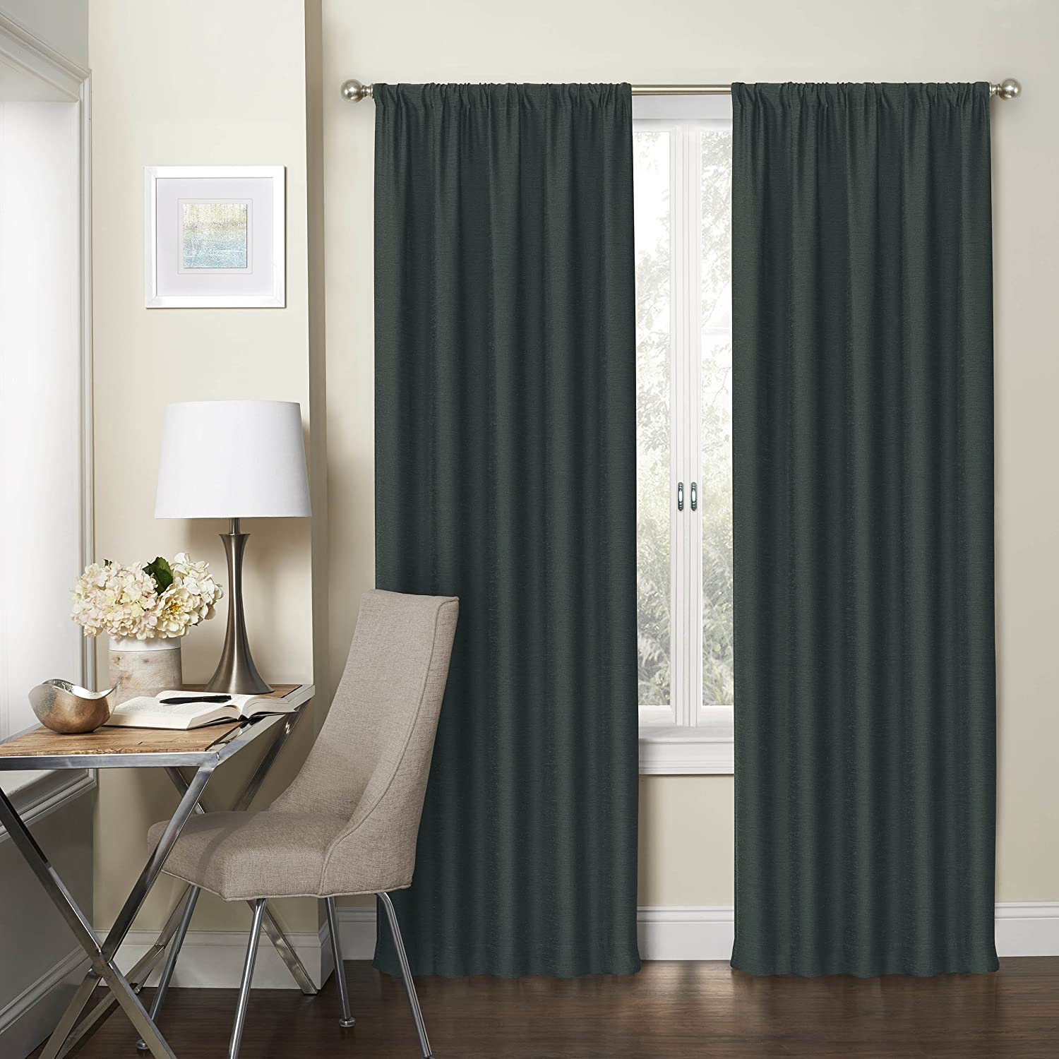 63 Length Gold Eclipse Curtains Window Panel Pair