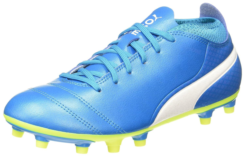 Puma One 17.4 FG, Zapatillas de Fútbol para Hombre 45 EU|Azul (Atomic Blue- White-safety Yellow)
