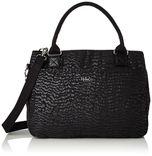 Kipling Caralisa, Womens Bag, Schwarz (Black Garden), One Size