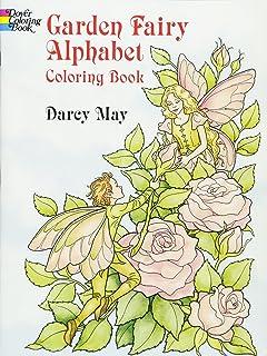 garden fairy alphabet coloring book dover coloring books - Fairies Coloring Book