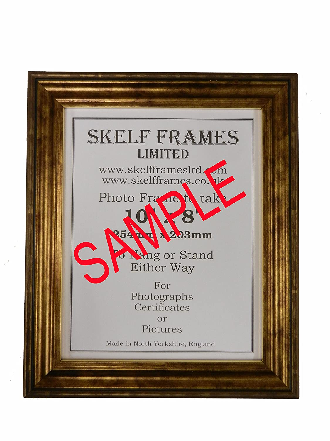 Gold Antique Look Picture Photo Poster Frame 5x4 Amazon