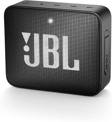 JBL GO 2 Portable Waterproof Bluetooth Speaker Midnight Black