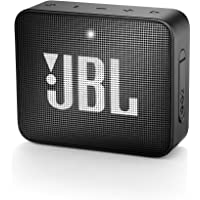 JBL GO 2 Portable Waterproof Bluetooth Speaker (Midnight Black)