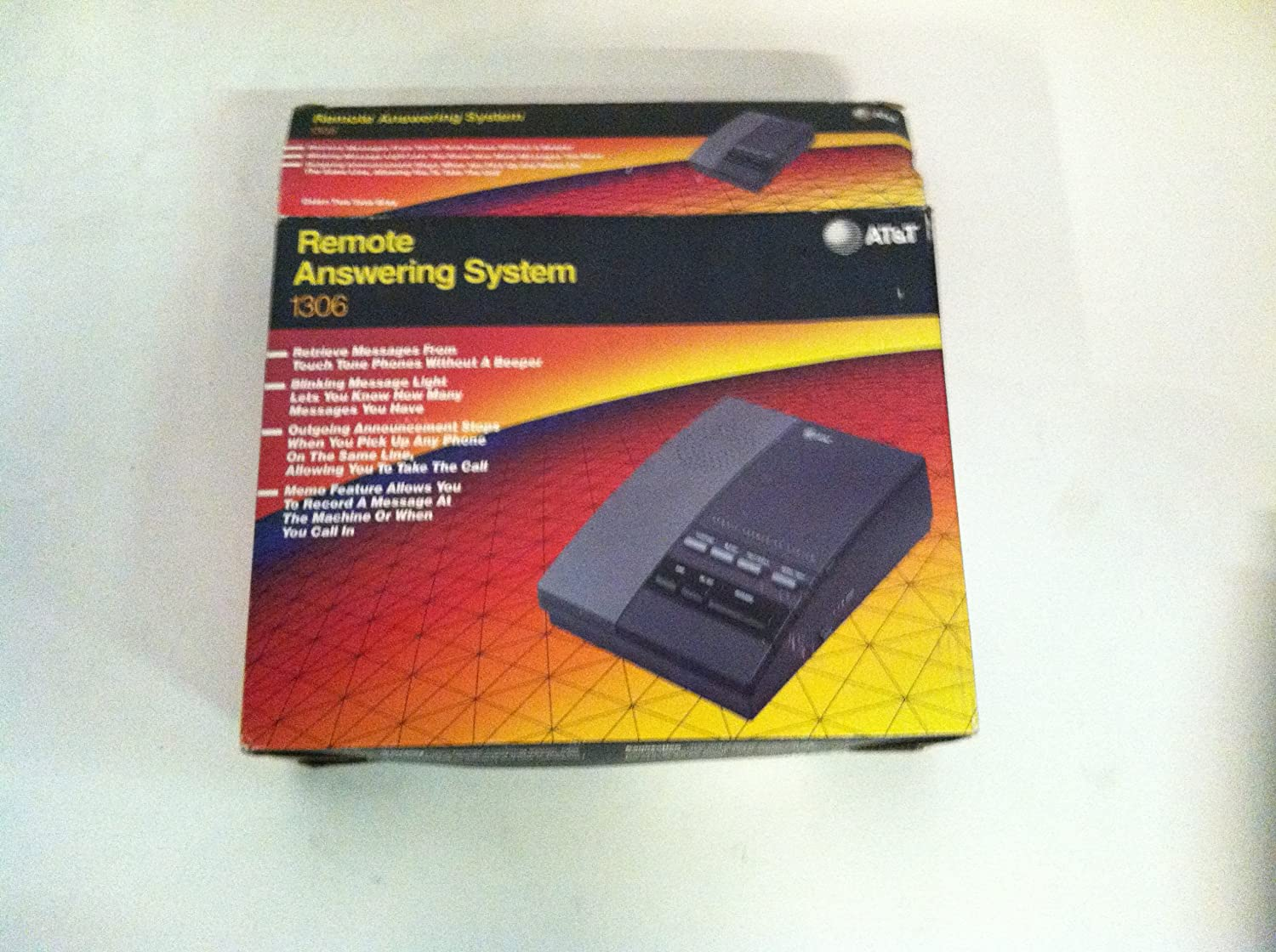 Vintage AT/&T Remote Answering Machine 1306