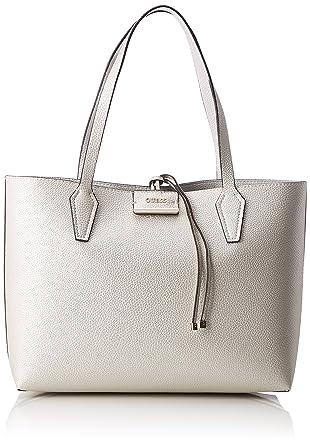 4d56c24391 Guess Bags Hobo, Sacs portés épaule femme, Multicolore (Pearlstone),  12.5x27x42
