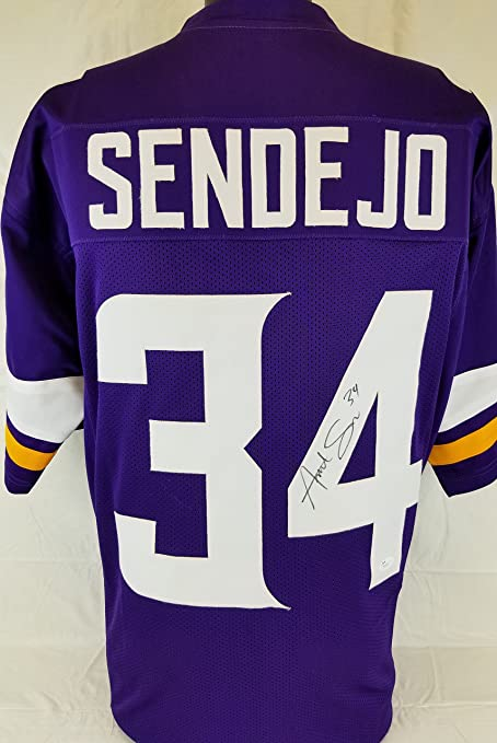 87db598ae6d Andrew Sendejo Signed autographed jersey JSA COA Vikings football autograph