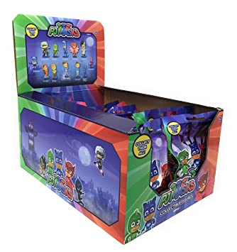 PJ Masks Series 1 Blind Bag Collectible Figure Display (Case of 24)