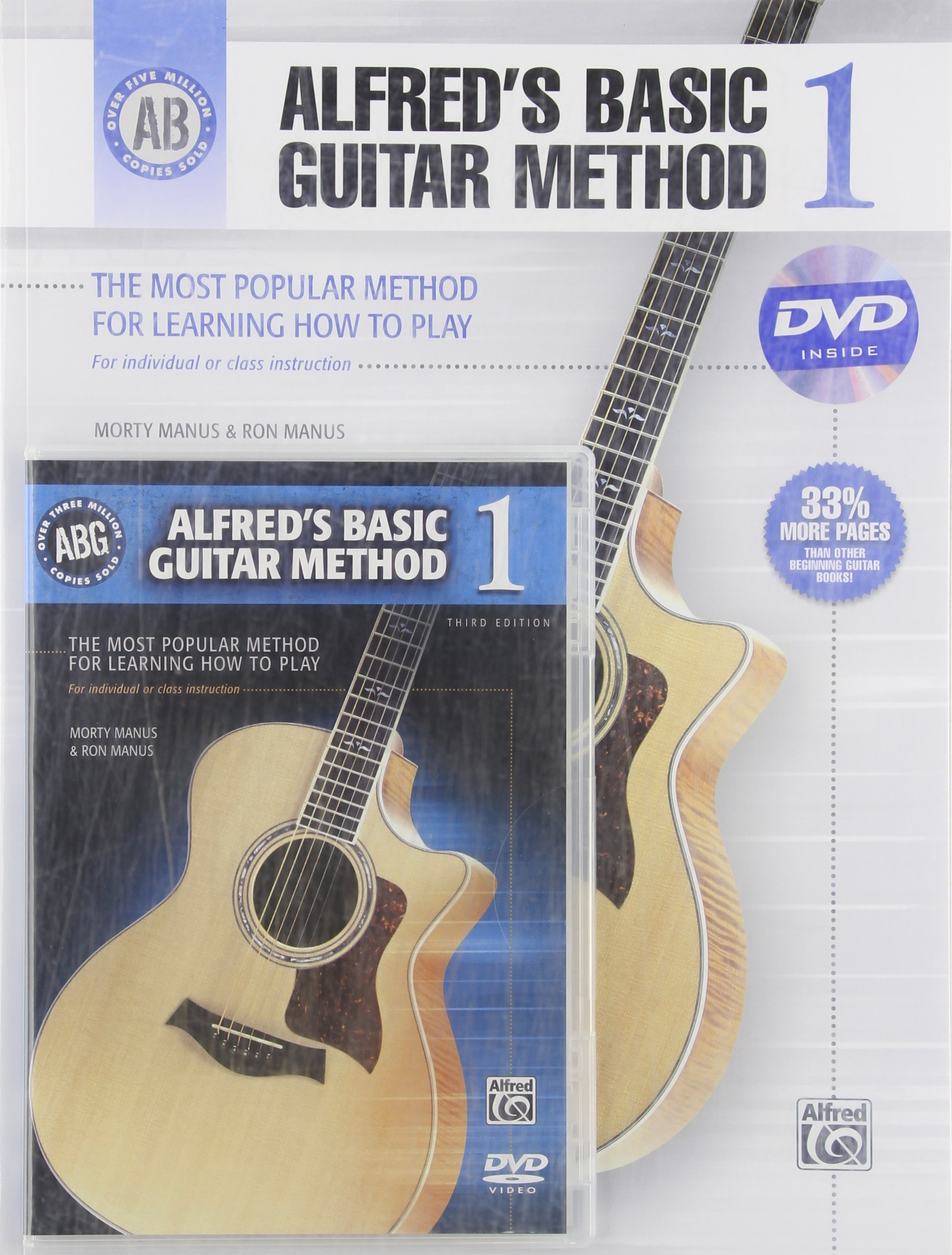 DVD : Ron Manus - Alfred's Basic Guitar Method, Book 1 (With Book)