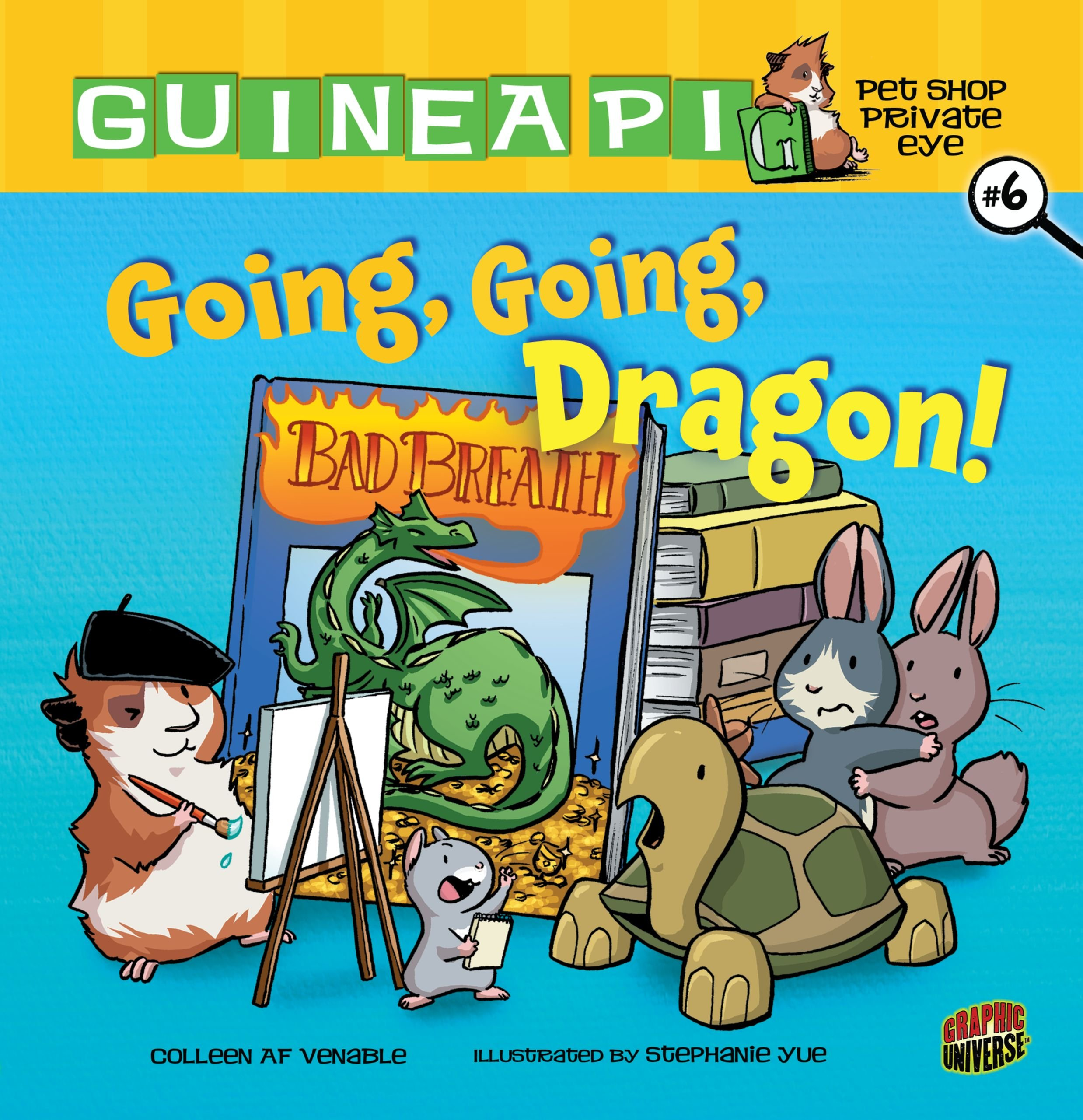 Going, Going, Dragon! (Guinea Pig, Pet Shop Private Eye) pdf