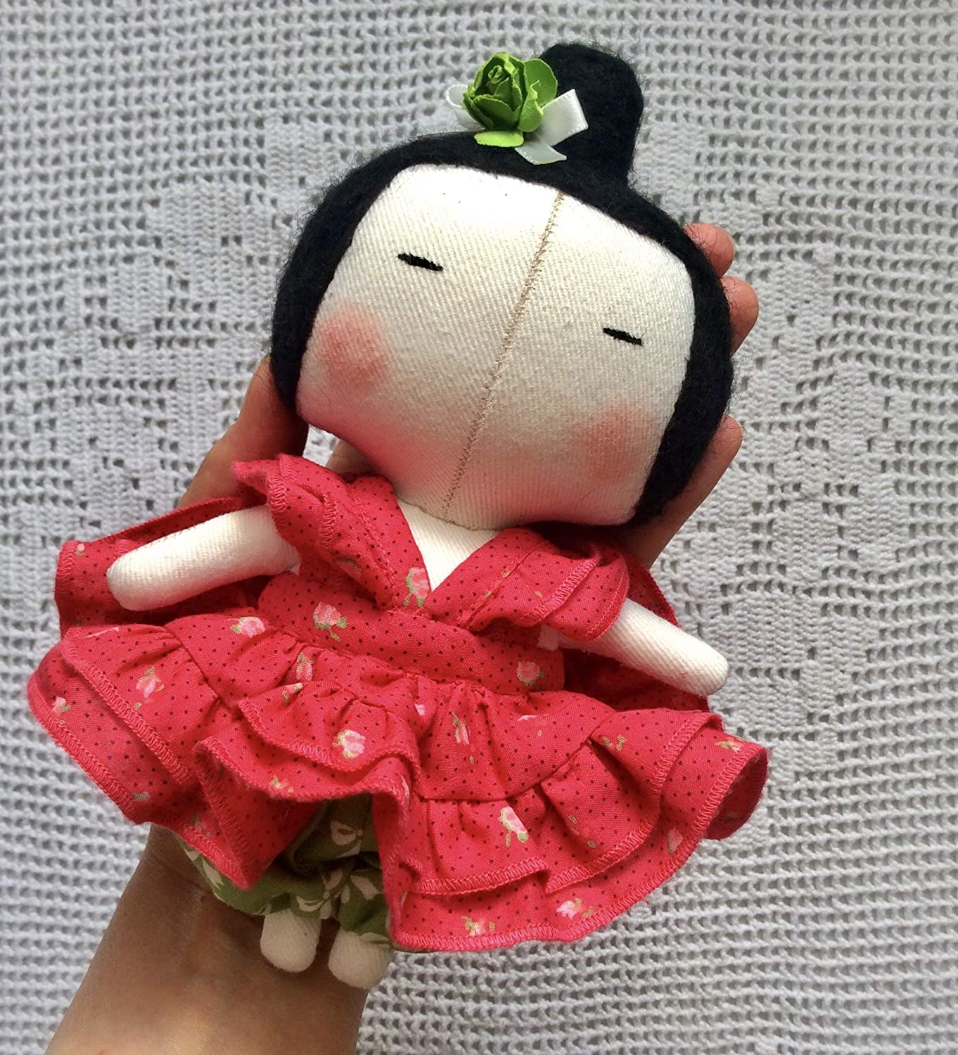Tilda Sweetheart Baby Doll Tildas Toy Box Rag doll Textile doll Handmade Gift for daughter Cloth doll Girl toy kids room decor fabric doll