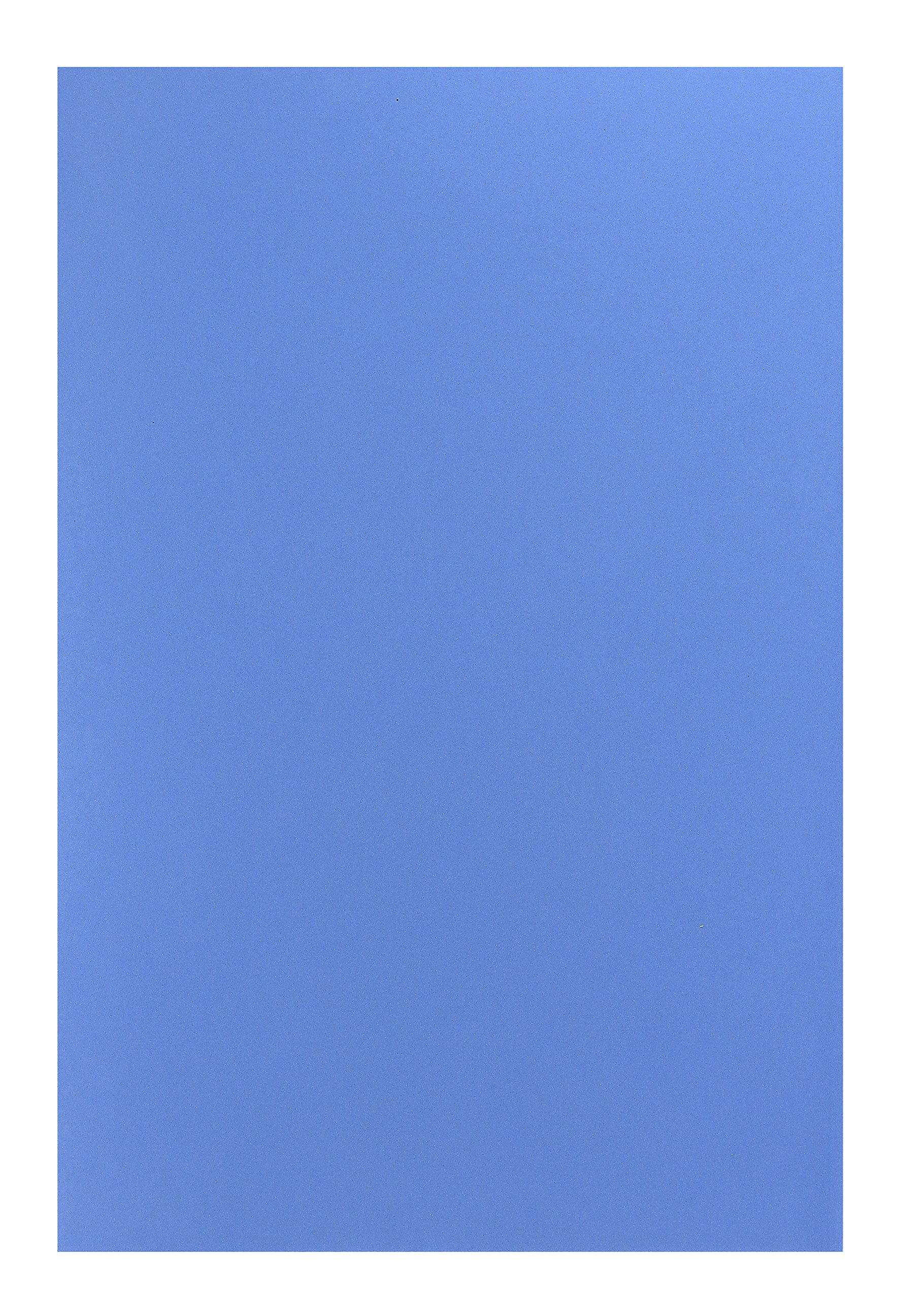 Hygloss Sheets for Crafts Colorful Foam for DIY Arts & Craft, 12'' x 18'', Blue, 10 Piece